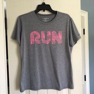 """Brooks """"RUN"""" Dri-fit shirt"""